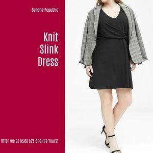 NWT Banana Republic Knit Slink Dress (D63)